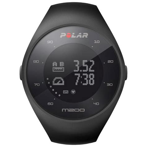 Polar M200 Smartwatch with Heart Rate Monitor Black : Smartwatches Best Buy Canada