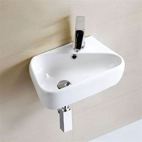 hand basins for bathrooms eton left hand wall mounted basin