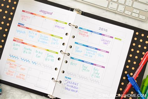 organizing life get organized with this planner and all the printables