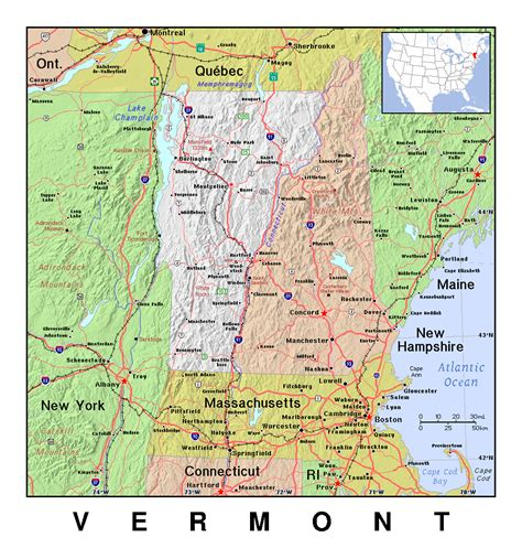 map of usa vermont 100 map of vt blank united states map quiz unit 3