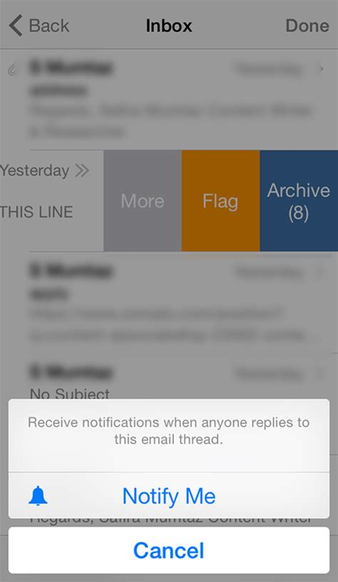 receive alerts of ads like this by email how to get notifications from specific email thread in mail on iphone or ipad techglimpse
