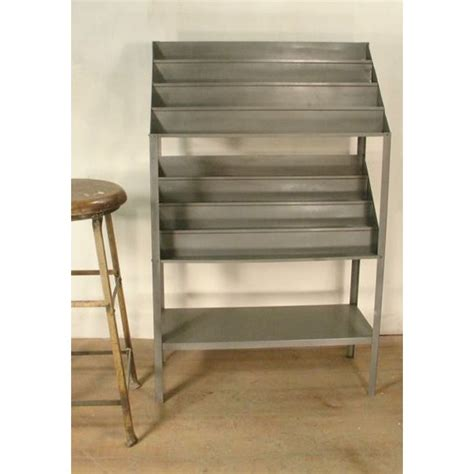 Retail Display Shelf by Vintage Retail Metal Shelf Display