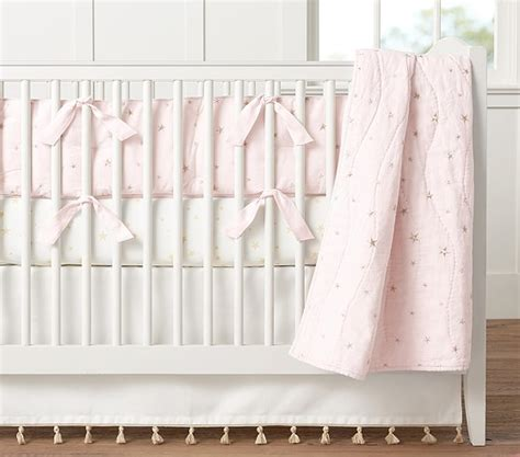 pottery barn baby bedding the emily meritt organic stars baby bedding sets