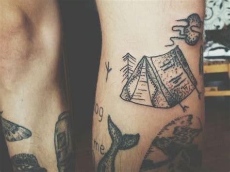 hand poke tattoo seattle legs tattoo blackwork dotwork stick and poke stick n poke