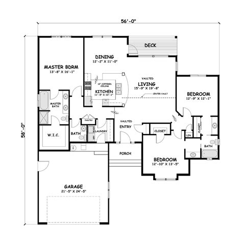Building Design Plan Modern House