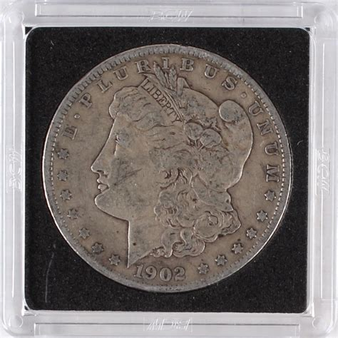 1902 o silver dollar value sports memorabilia auction pristine auction