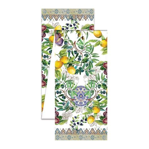 amazon com michel design works hfs274 home fragrance spray tuscan grove long table runner
