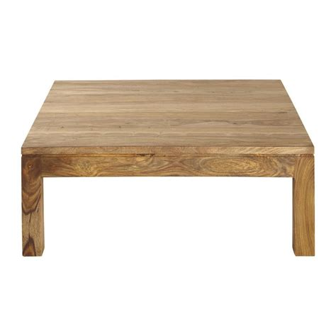 Solid sheesham wood coffee table W 100cm Stockholm