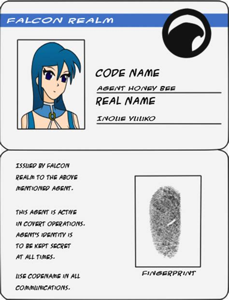 Secret Card Template by 27 Images Of Id Template Lastplant