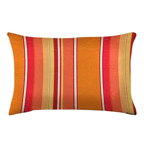 Home Decorators Outdoor Pillows by Home Decorators Collection Sunbrella Dorset Mango Standard