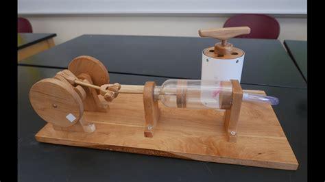 physics  toys reciprocating air engine homemade