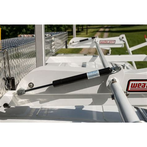 Weather Guard Ladder Rack For Vans by Weather Guard 2261 3 01 Ezglide2 Fixed Drop Ladder Rack Compact