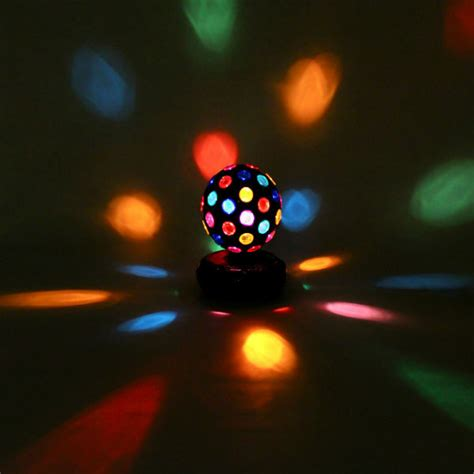 rotating disco light rotating disco light 4 quot eclectic novelty