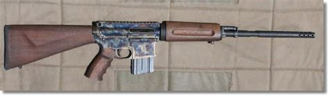 Ar Wood Furniture by This Is Hardened Steel Ar 15 With Wood