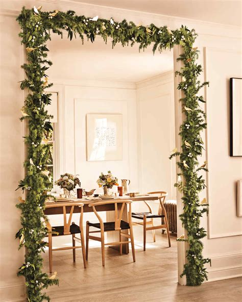 Garland Home Decor Door Garland Martha Stewart