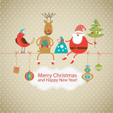 48 creative happy christmas greeting cards with warm