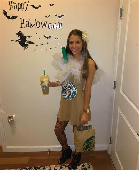 starbucks halloween costume frappucino college teenager