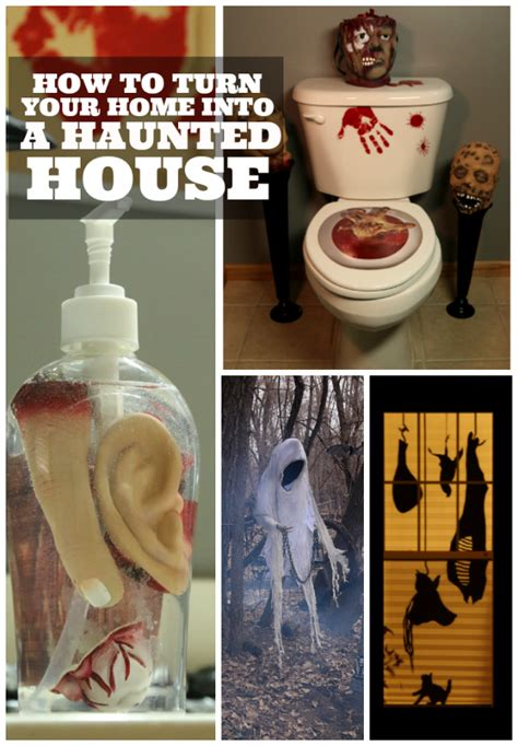 diy haunted house how to turn your home into a haunted house halloween