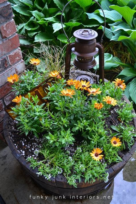 funky garden get a flowerbed with less plus other garden cheater