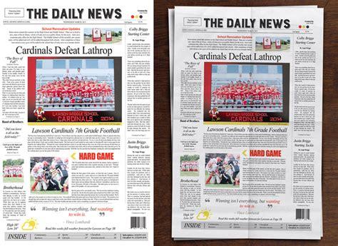 Digital Newspaper Template by Digital Scrapbooking Newspaper Templates By Murry