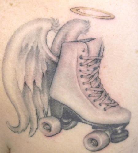roller skate tattoo skate tattoos tattoos gt galen luker gt page 11 gt black