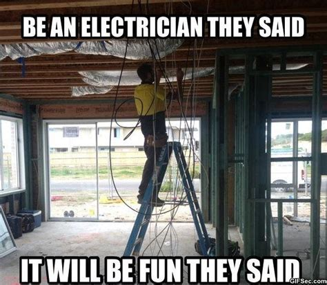 Electrical Memes - electrician meme electrical humor pinterest funny