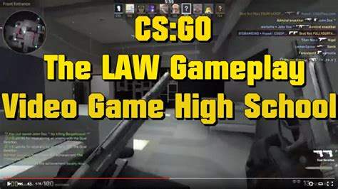 video game high school movie