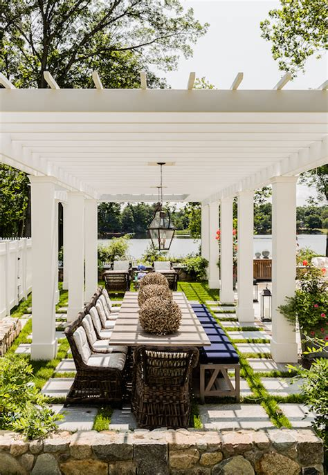 outdoor dining rooms pergola design ideas