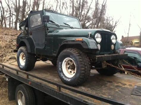 79 Jeep Cj5 79 Jeep Cj5 6 Cylinder 3speed For Sale In Ellicott City