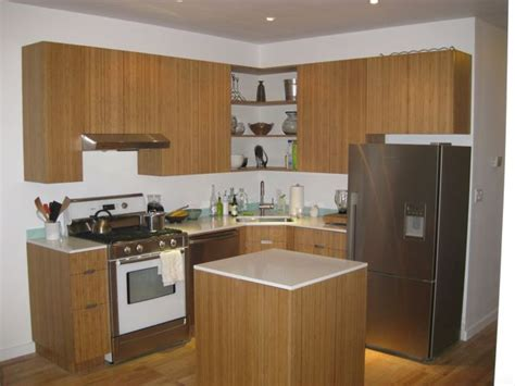 bamboo kitchen in brownstone