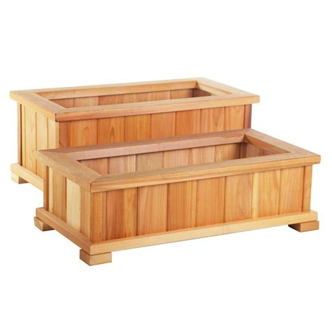 planter boxes cedar planter box design woodworking projects plans