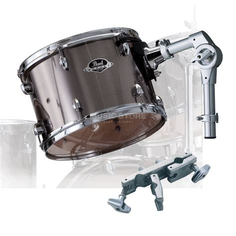 Tom Drum 10 pearl tom export add on pack 10 quot x7 quot smokey chrome 21