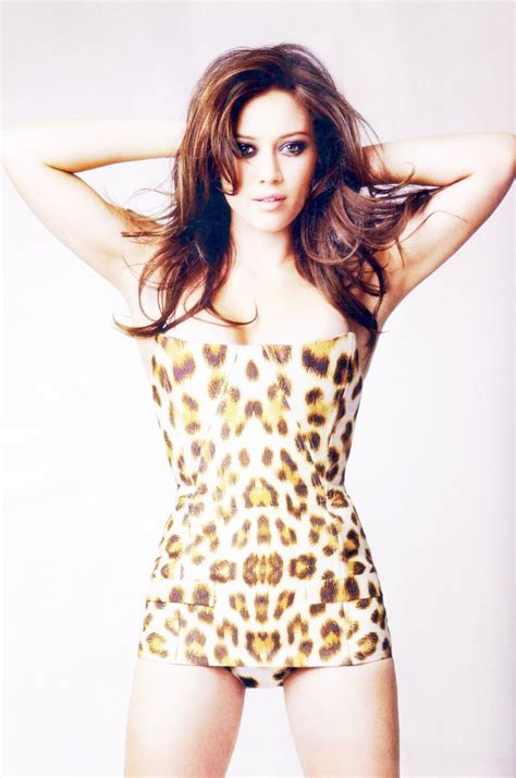 Hilary Duff Keeps Clothes On For Fhm by Hilary Duff Photo Gallery Page 116 Place