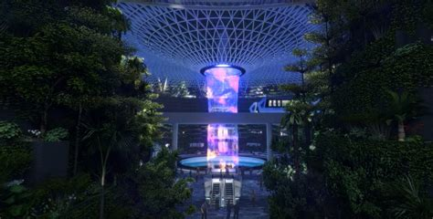 singapores jaw dropping  airport   worlds