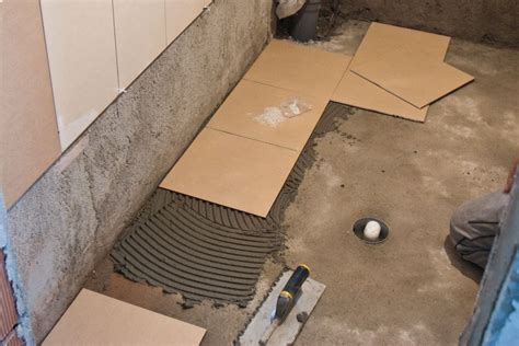 Laying Wood Floors Concrete by Floor How To Lay Tile On Concrete Floor Desigining Home