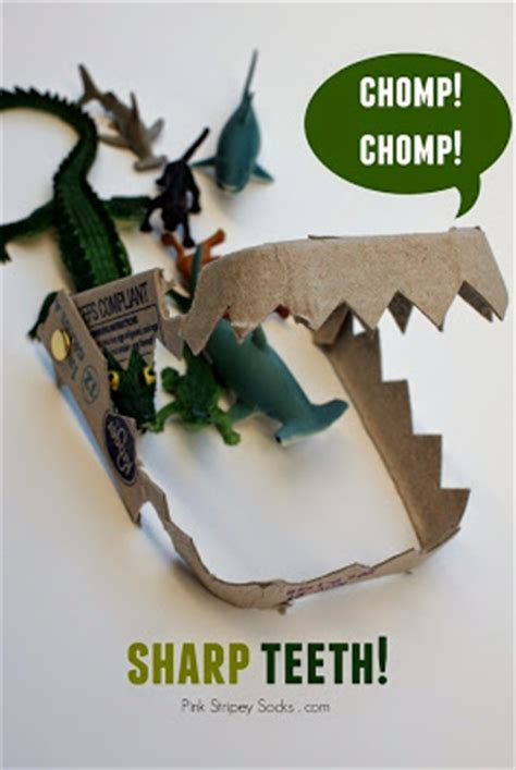 How To Make Vire Fangs Out Of Paper - 10 crafts and activities pink stripey socks