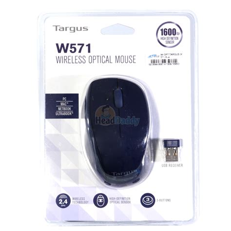 Diskon Mouse Wireless Targus W571 wireless optical mouse targus w571 blue
