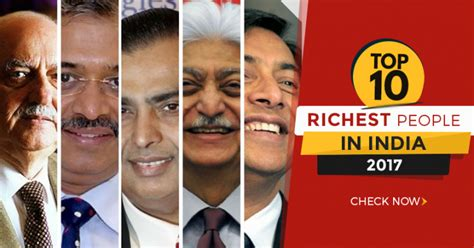 top 10 richest in india 2019 indian billionaires 10voted