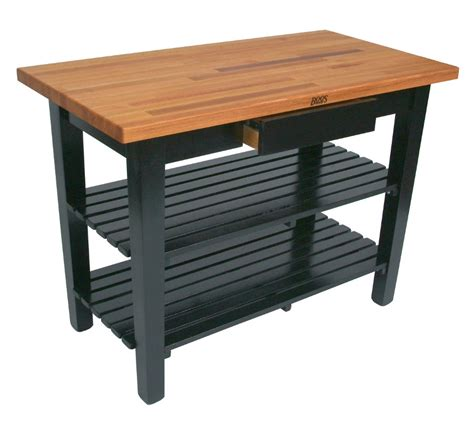 oak butcher block kitchen table desjar interior types