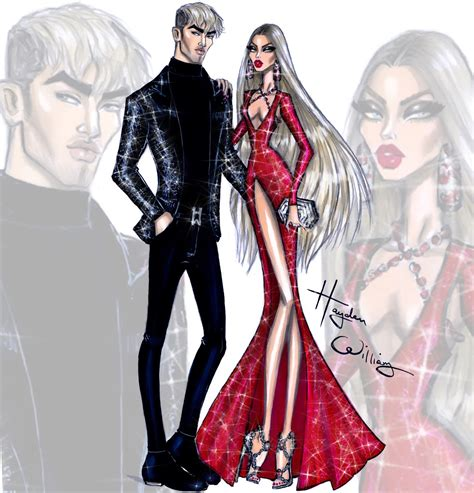 fashion for new year 2016 hayden williams fashion illustrations new year couture