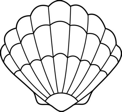 pin dibujo de plancha para imprimir pintar y colorear dibujos on dibujos de conchas marinas para colorear y pintar