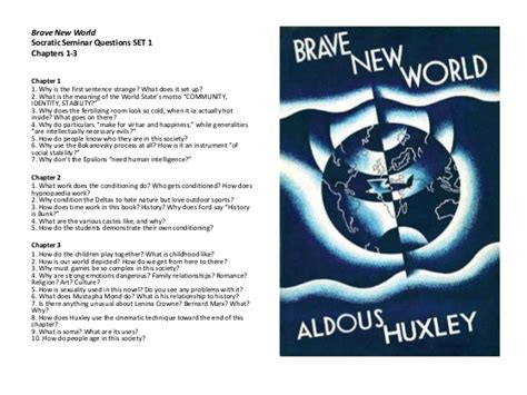 theme questions brave new world bnw socratic semicar questions