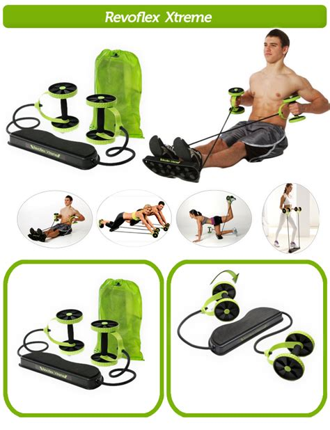 Fitness Wheel Roller Abs Alat Fitness Roda Per Murah buy everything imported revoflex xtreme re strengthening