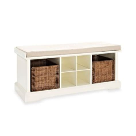 buy storage benches furniture from bed bath beyond