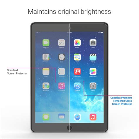 Tempered Glass Air 2 Caseflex Air Air 2 Tempered Glass Screen Protector Retina Display Compatible 0 2mm