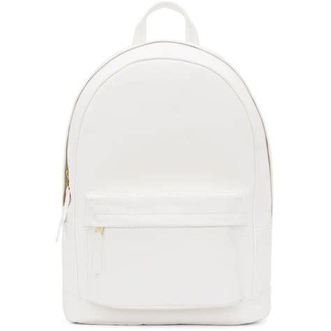 white leather backpacks backpacks