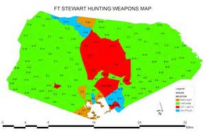 fort stewart weapons map