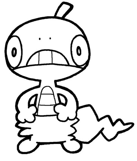 pokemon coloring pages scraggy pokemon master ball coloring pages coloring pages