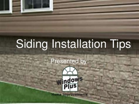 how to install house siding how to install siding on your house