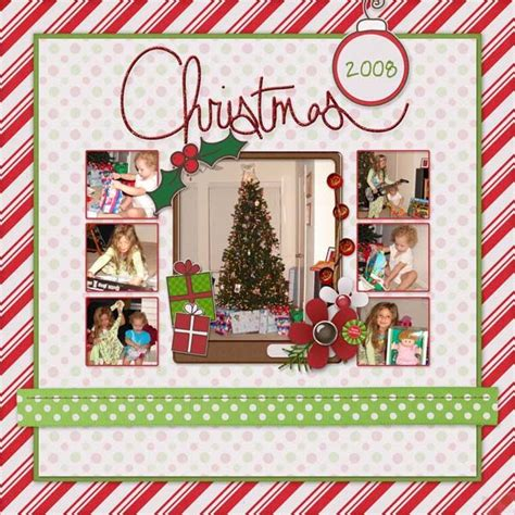 scrapbook layout christmas 2291 best 12x12 scrapbook layouts images on pinterest